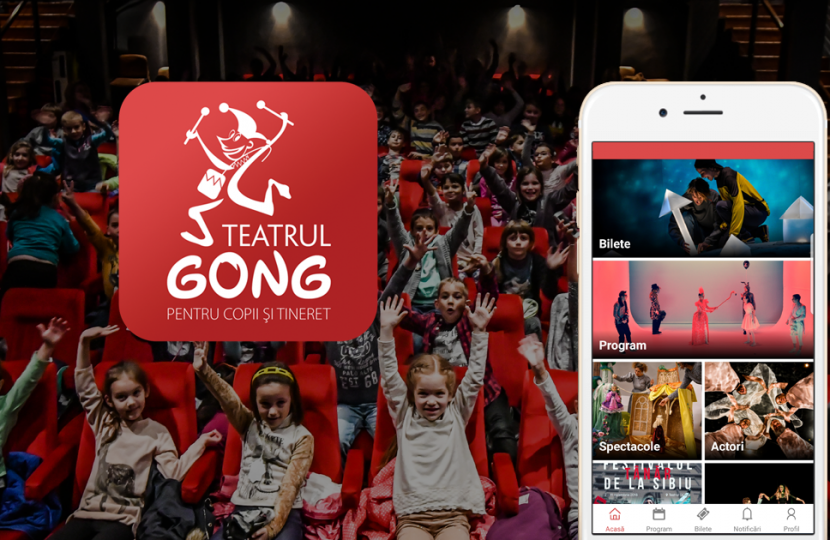 What needs does GONG Theatre 🎭 mobile app tackle?