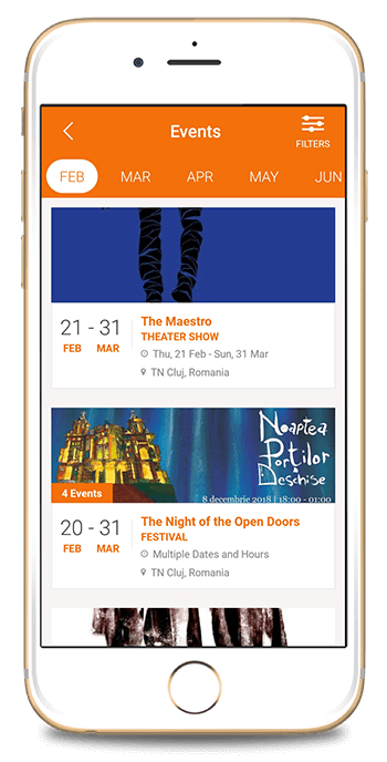 Create your {Theater, Philharmonic Mobile App}