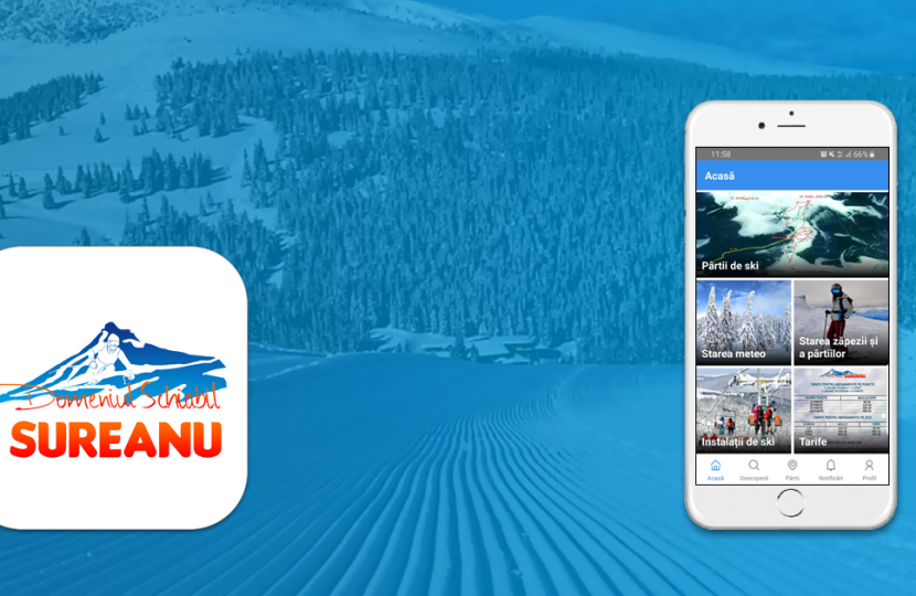 Șureanu, the first resort in the Romanian Carpathians with a ski app 🎿